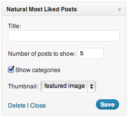 Natural Most Liked Posts